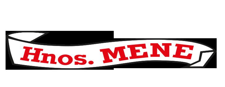 Hermanos Mene Mayorista de fruta y verdura - logo y letras